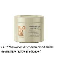 Masque Rénovateur à la KÉRATINE pour Cheveux Blonds